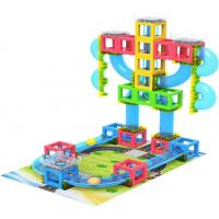 China 3D Magnetic Building Blocks Set with Runing ball on sale