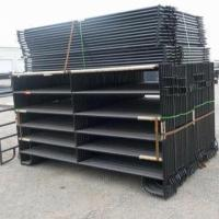 Quality Black Painted Corral Horse Panel for sale