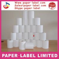 Quality jumbo thermal paper label for price tag and barcode label for sale