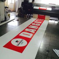 Buy Heavy Duty Canvas Fabric PVC Tarpaulin Truck Cover Sheet Printable Cold Crack at wholesale prices