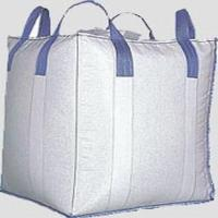 Cross Corner Conductive Big Bag FIBC For Packing Soybean Meal, 3000 LBS Capacity for sale