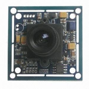 China 1/3-inch Digital Sharp Color CCD CCTV Board Camera, 420TV Lines, 2.8mm/3.6mm Lens, 32*32mm/38*38mm on sale