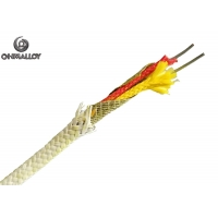 Quality Mica Wrap Fiber Glass PWHT Thermocouple Type K Cable 650℃ 100M IEC ANSI Standard for sale
