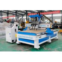 Buy cheap 1325 Three Processes Multi Head CNC Router Machinery with HQD Air Cooling from wholesalers
