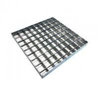 China Press Welded Mild Steel Grating For Drainage Channel Bearing Bar  25*2 MM on sale