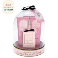 China Ultimate Bubble Bath Gift Set Deeply Nourish Romantic Elegance Raw Materials for sale
