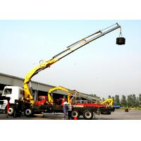 Quality High Lifting Capacity 14T Knuckle Boom Truck Mounted Crane For Transporting Heavy Things for sale