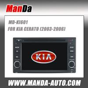 Quality Manda car dvd gps for Kia Cerato OEM stereo radio GPS navigation DVD player TV for sale