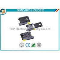 Buy High Temperature SMT Sim Card Connectors For Micro Sim Cellular Phones at wholesale prices