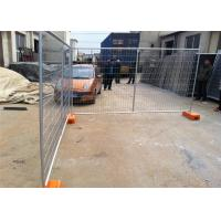 Quality OD 32 Pipes Safety Fence Panels Temporary Construction Barricades Durable for sale