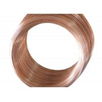 Quality Cold Drawing Single Wall Coated Copper Steel Bundy Tube To Protect Rust  4.76 mm  X 0.7 mm for sale