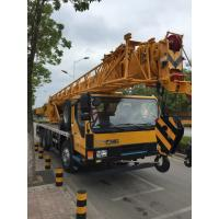 Quality 14 Ton vehicle mounted crane Telescopic Boom Driven By Hydraulic , 35 T.M for sale