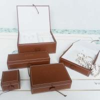 Quality leatheroid jewellery boxes,ring box,earring box,set jewellery box for sale