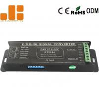 Quality Screwless Terminals PWM Signal Converter With 4 Channels Dip Switch DC15V - 30V for sale