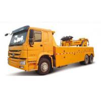 Quality Durable Higher Efficiency Wrecker Tow Truck , Breakdown Recovery Truck For Treating Vehicle Accidents for sale