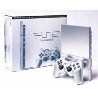 Quality Playstation 1 & 2   PS2 Console(79001)-Sliver US version for sale