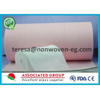 Quality Antibacterial Disposable Dry Wipes Cleaning 2 Rolls Per Pack For Hospital for sale