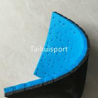 Quality Recycling Soccer Artificial Turf Shock Pad Wear Resisting Custom Size for sale