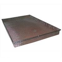 Buy cheap FDA Metal Wire Basket Rectangle for storage / sterilization / BBQ from wholesalers