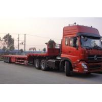 Quality 50t Heavy Duty Low Bed Semi-trailer Truck for sale