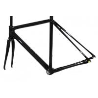 Buy Tapered Head Tube Full Carbon Road Bike Frame Forks Bicycle Frameset DI2 System at wholesale prices