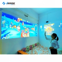 Quality Multiplayer 3D Interactive Wall Projection 12 Games For Kids for sale
