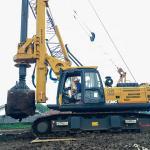 Quality Cummins QSB6.7 Pile Drilling Machine 220V Max. Drilling Depth 46m for sale