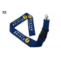 Quality Custom Design Safety Breakaway Id Lanyard For Women , Pretty Visitors Badges Lanyards for sale