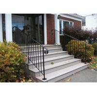 China cast iron stair railing/rod iron railing prices/wrought iron pipe railing on sale