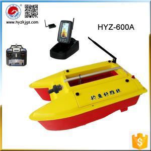 Quality HYZ-600A Digital Sonar Senor Potable Fish Finder Bait Boat for sale