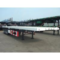 Buy cheap 40 Feet-3 Axles-Flat Bed Semi-Trailer from wholesalers