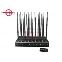 Buy cheap Customized Mobile Phone Signal Jammer With Adjustable Working Range 47 Watts from wholesalers