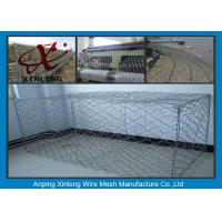 Quality Hot Dipped Gabion Rock Wall Cages , Reno Mattress & Gabion Basket Fence for sale