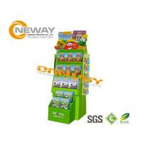 Buy Custom Advertising Pop Cardboard Display Stands With LCD Screen at wholesale prices