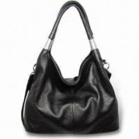Quality Handbag, Available in Black, Made of Genuine Leather for sale