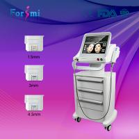 Quality factory newest 10000 shots long life time head HIFU Face Lift&Wrinkle Removal machine for sale