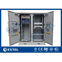 Quality Two Compartments Base Station Cabinet Outdoor Telecom Cabinet for sale