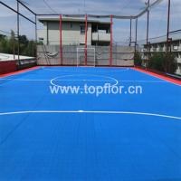 Pp interlock tiles for outdoor basketball court of Basketball court installation cost