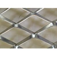 1 . 0 mm Thickness Expanded Metal Mesh Aluminum For Decoration
