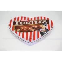 Buy cheap Elegant Pantone Heart Shaped Candy Tin Cans , Tin Gift Boxes from Wholesalers