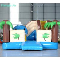Quality Customized Summer Beach inflatable Coconut Tree Bouncy Castle for Sale for sale