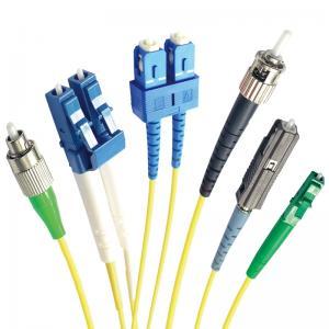 China SM/MM SC/APC LC FC ST MU DIN Optical Fiber Patch Cord on sale