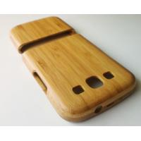 China Removable Samsung Galaxy S3 Wooden Cases,Carbonized Bamboo Material on sale