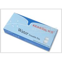 Quality Non-Toxic Pp White Water Erasable Markers Suitable For Dark Color Fabric Easily Removed By Water #WW10 for sale