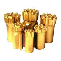 Buy cheap Button bits T38-76 golden color drilling for marble and granite stone from wholesalers