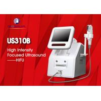Quality 2 In 1 Hifu Facelift Machine 5 Cartriges For Wrinkle Removal / Body Slimming for sale