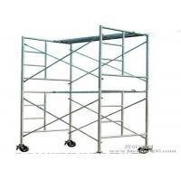 China Ladder Scaffolding Frame System Safety A Scaffolding Climbing Frame Customized Size on sale