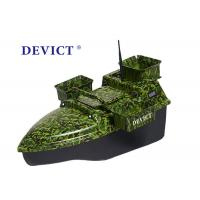 Quality Radio Controlled Bait Boat DEVC-208 camouflage remote frequency 2.4GHz for sale