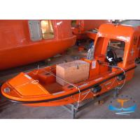 Quality High Speed Lifeboat Rescue Boat With SOLAS Approval Reinforced Plastic Material for sale