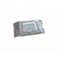 Quality Strawberry Aroma Soft Adult Wet Wipes Comfortable Non Alcoholic for sale